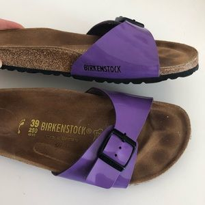 Birkenstock Purple Madrid Sandals/ Slippers